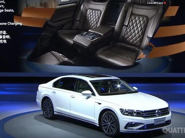 Volkswagen Phideon - La berlina per la Cina diventa ibrida plug-in