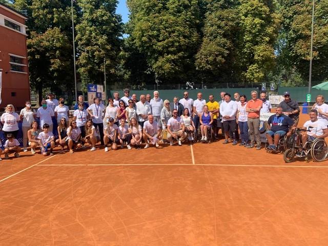 Rotary Nuove Frontiere, conviviale di apertura dopo il tennis in carrozzina