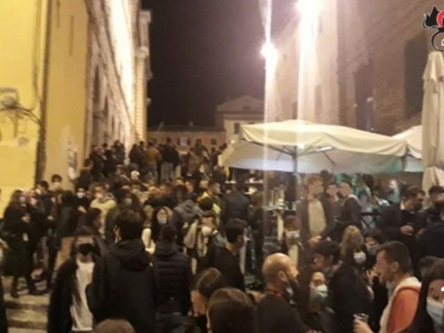 Jesi: Movida senza regole, arrivano i Carabinieri
