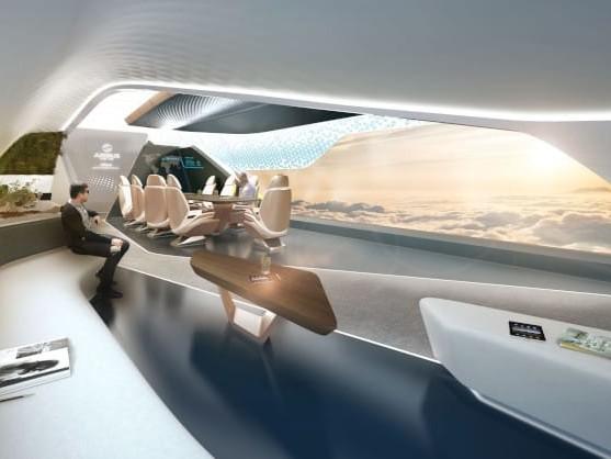Amac Aerospace e Pininfarina, lusso a 10.000 metri