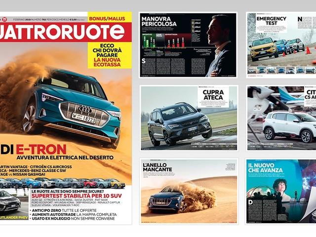 #nuovoQuattroruote - Il numero di febbraio è in vendita - VIDEO