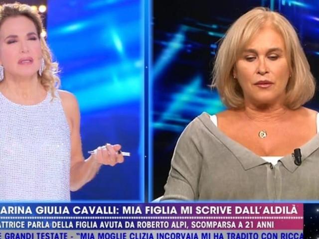 Marina Giulia Cavalli: serena dopo un grave lutto grazie alla scrittura automatica