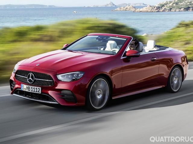 Mercedes Classe E - Rinnovate anche le varianti Coupé e Cabriolet