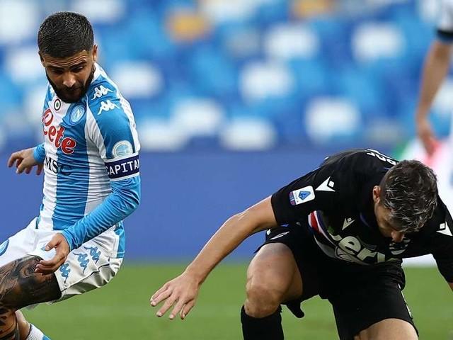 DIRETTA/ Sampdoria Napoli (risultato 0-2) video streaming tv: raddoppia Fabian Ruiz!