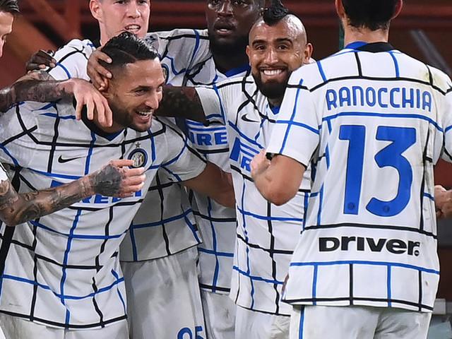 L'Inter batte il Genoa2-0 e la Lazio vince sul Bologna per 2-1. Nuovo stop per l'Atalanta