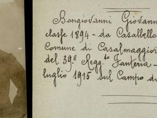 Il soldato della Grande Guerra può tornare a casa 106 anni dopo