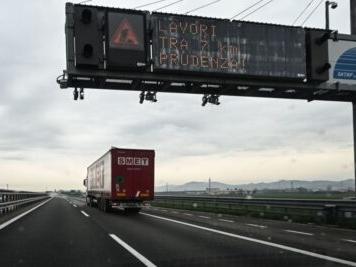 Traffico in autostrada, lunedì 19 ottobre: incidenti in A1 e A4