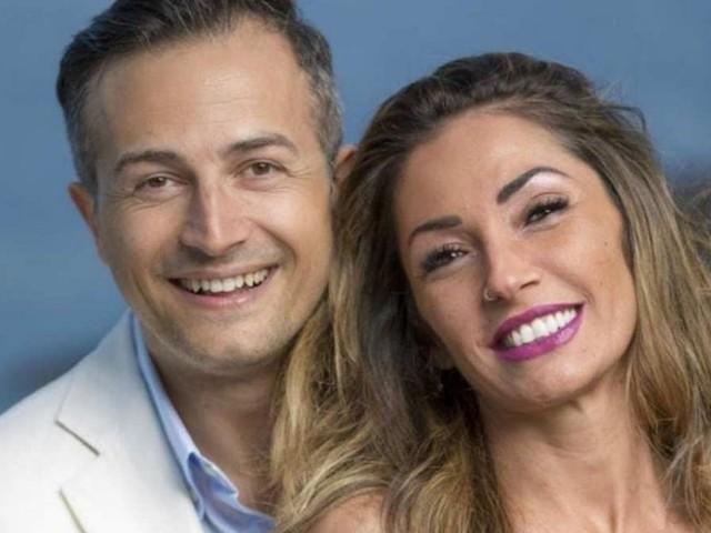 Ida Platano e Riccardo Guarnieri lontani: solo lui al battesimo di Bianca Aruta