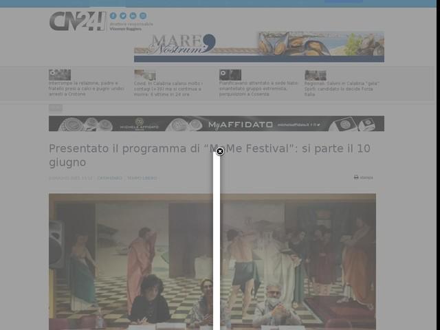 """Presentato il programma di """"MoMe Festival"""": si parte il 10 giugno"""