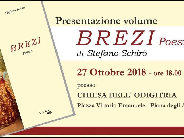 """""""Brezi poesie"""", a Piana Degli Albanesi la presentazione del volume"""