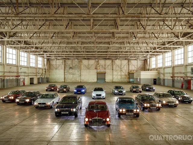 50 anni di Jaguar XJ - Da Castle Bromwich a Parigi per celebrare l'icona british