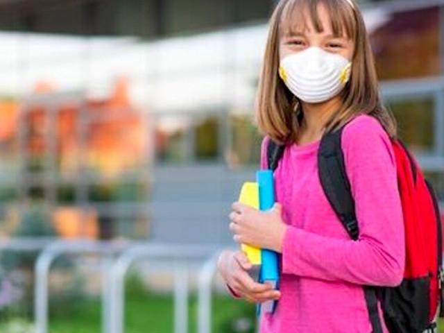 Le mascherine per proteggere la salute dei bambini