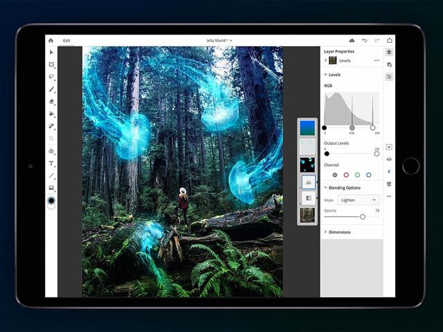 Adobe annuncia Photoshop CC per iPad: sarà uguale alla versione Desktop! [Video]