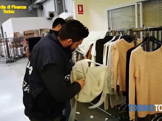 Falsi capi di abbigliamento, sequestrate migliaia di prodotti