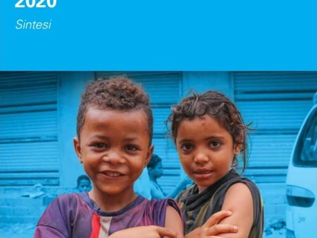 Unicef, il 25% dei bambini nel mondo è colpito da disastri naturali o guerre