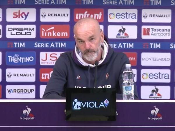 Fiorentina, Pioli: 'Siamo giovani e forti. L'Europa è ancora lì'