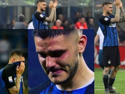 Inter, Wanda posta foto di Icardi che piange. Segnale distensivo?