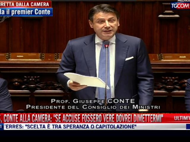 """Mes, Conte alla Camera: """"Mai firmato, il trattato è incompleto e passa dal Parlamento"""""""