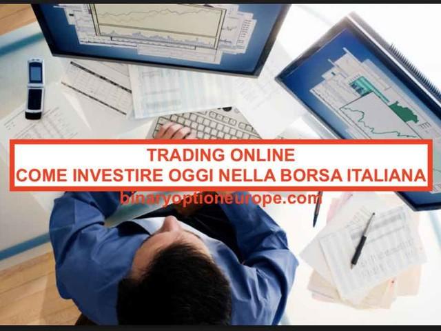 Trading online: come investire oggi in borsa italiana