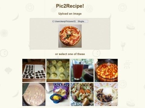 Fai la foto a quello che mangi e ti arriva in tempo reale la ricetta