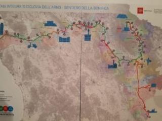 36 milioni di investimenti per la Ciclopista dell'Arno-Sentiero della Bonifica