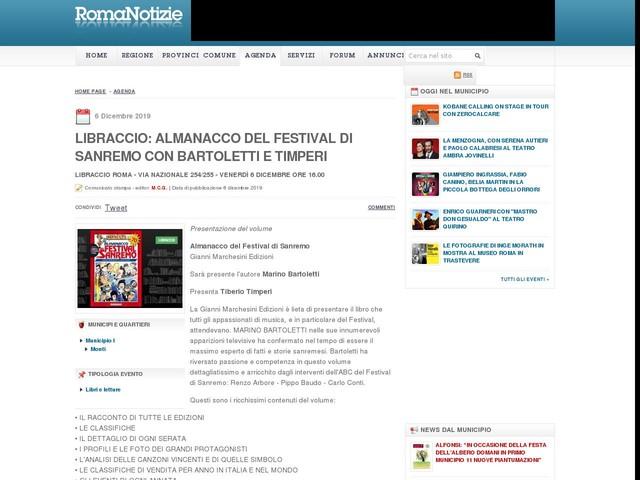 Libraccio: Almanacco del Festival di Sanremo con Bartoletti e Timperi