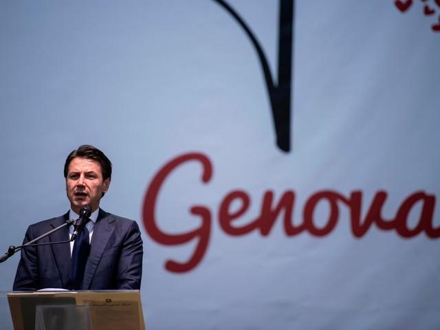 """Ponte Genova, Conte: """"Autostrade non si occuperà della ricostruzione"""""""