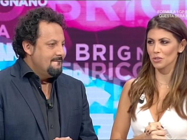 """Flora Canto a Domenica In: """"Brignano più social grazie a nostra figlia"""""""