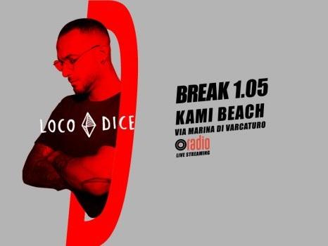 """Break ritorna l'1 maggio con Loco Dice al Kami Beach di Giugliano di Napoli: """"Celebriamo la Festa dei Lavoratori con la musica"""" (intervista)"""