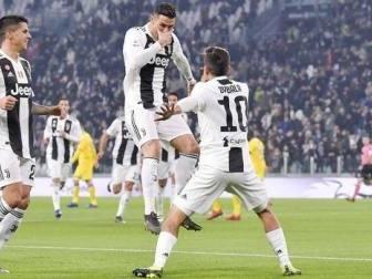 Serie A, la Juve strapazza il Frosinone e prende il largo: +14