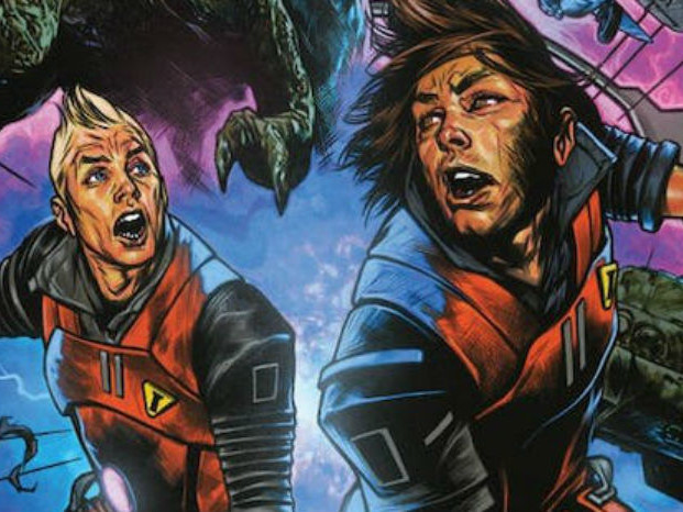 Chrononauts: Futureshock, il fumetto Netflix in binge reading
