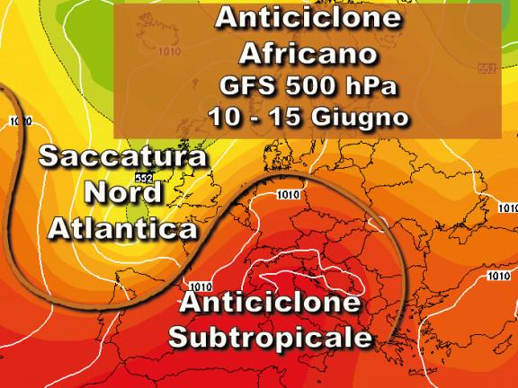 Dopo i temporali, nuova intensa fiammata nord-africana!