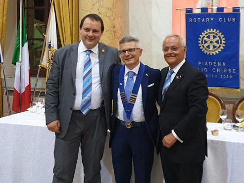 Rotary Poc, a San Lorenzo il passaggio di consegne: da Delvò a Tripodi