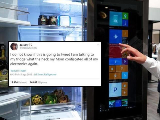 La mamma le sequestra il telefono: 15enne twitta usando il frigo connessoIl post diventa virale