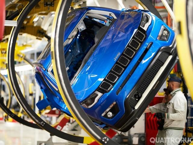 Jeep Compass - Melfi, inaugurata la produzione dell'ibrida plug-in