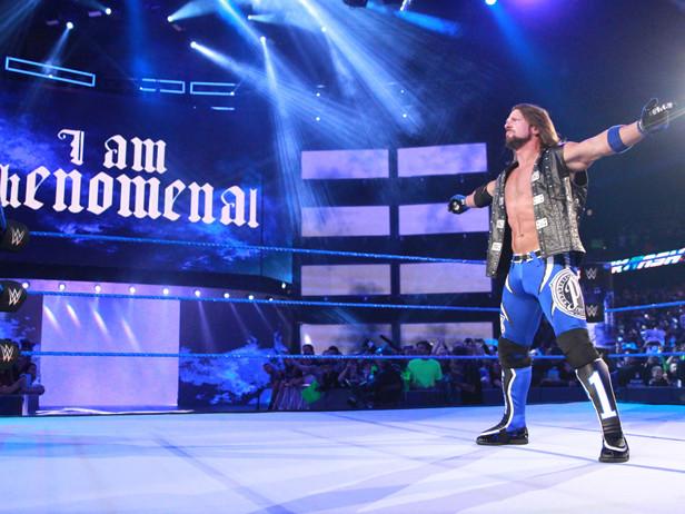 AJ Styles, a WrestleMania lo spettacolo è di casa
