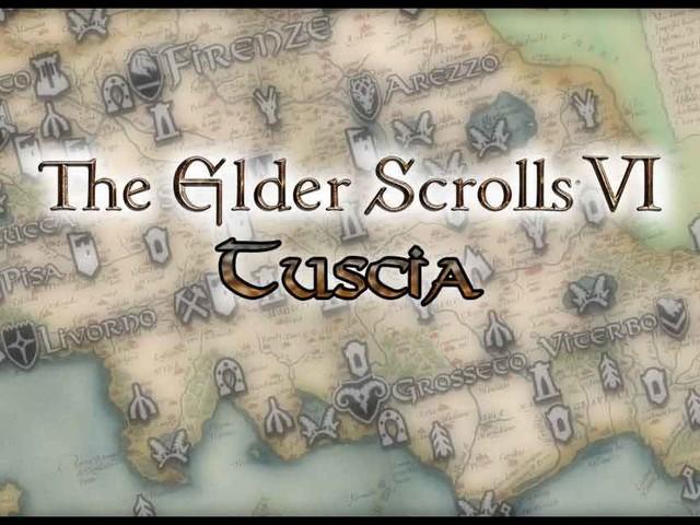 The Elder Scrolls: Tuscia | Download della Mappa