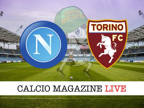 Napoli – Torino: cronaca diretta live, risultato in tempo reale