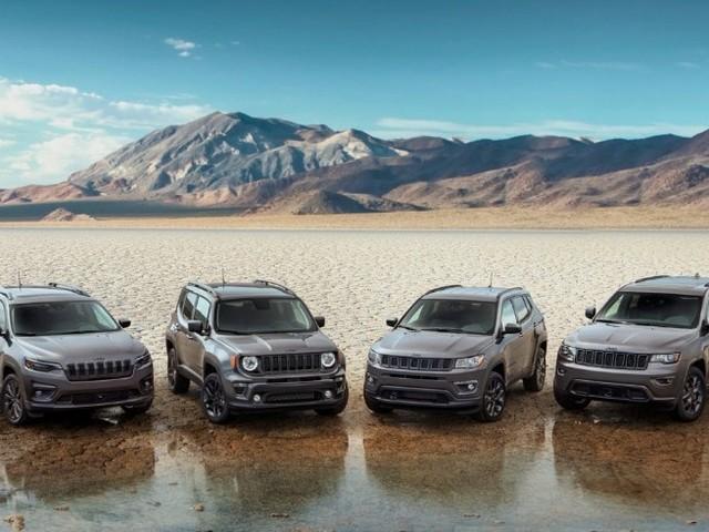 Jeep - Negli Usa debuttano le versioni 80th Anniversary