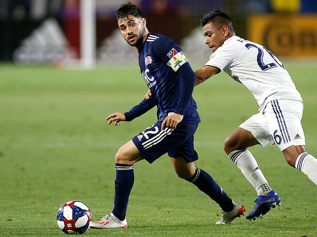New England's Carles Gil Named MLS Newcomer Of The Year