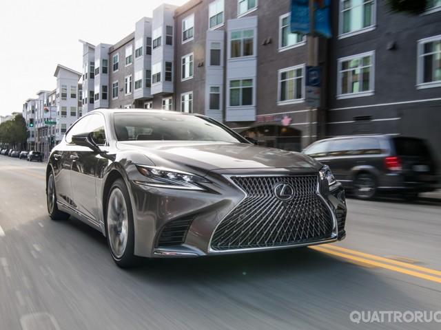 Lexus LS - Nuovi dettagli dell'ammiraglia