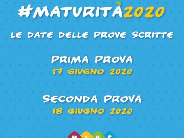 Maturità, pubblicato il calendario con le date delle prove scritte per l'anno scolastico 2019/2020