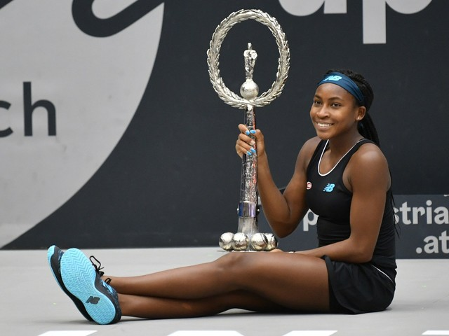 Tennis, a 15 anni Coco Gauff vince il 1° torneo della carriera: a Linz battuta Ostapenko