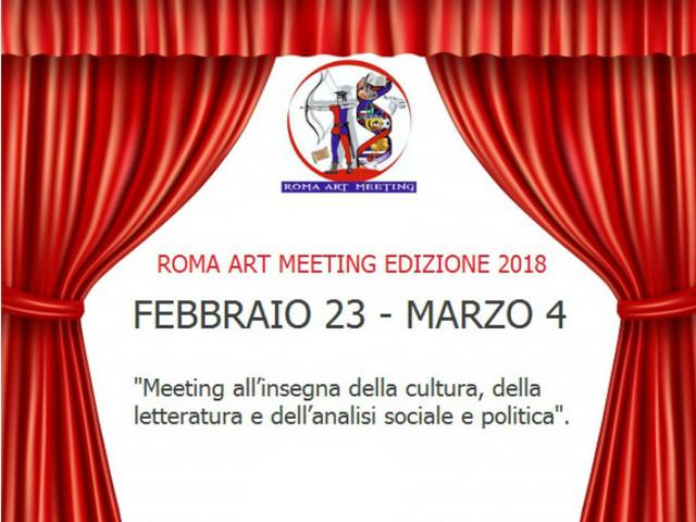 ROMA ART MEETING - ANNO 2018