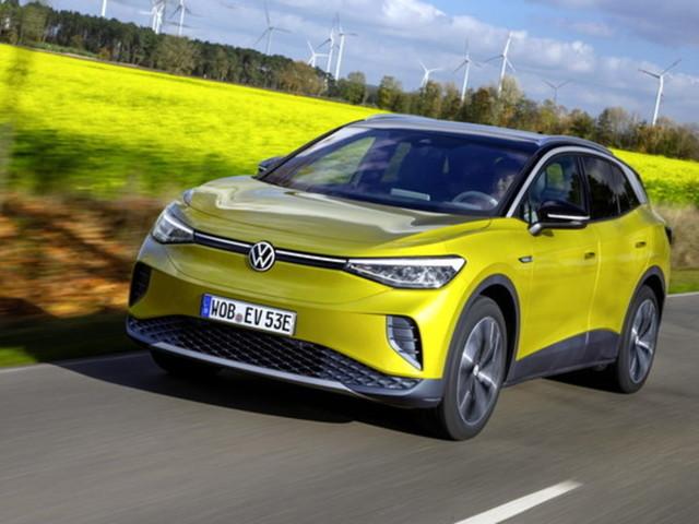 Volkswagen ID.4, il Suv elettrico con super sospensioni