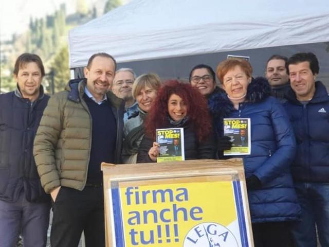 "Stop MES, Arrigoni (Lega):""Ieri nelle Marche 5mila firme ai gazebo: oggi si replica"""