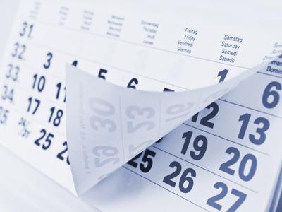 Appuntamenti e scadenze del 29 novembre 2019
