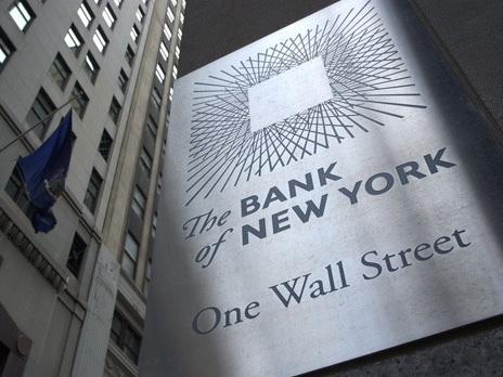 Bank of New York Mellon festeggia i conti a Wall Street