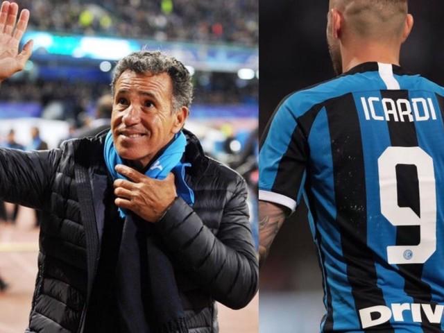 """Careca: """"Ma davvero Icardi non vuole venire a Napoli? Ma vada al diavolo!"""""""