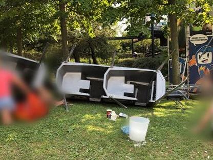 Canevaworld, si ribalta trenino nel parco divertimenti di Lazise: 7 feriti